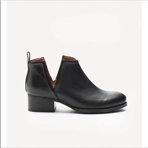 Jeffrey Campbell Black O'Reily Lo Ankle Booties